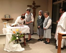 Sr Monique's Renewal of Vows, 2017
