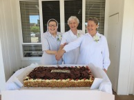 Srs Rita, Lucy and Ersilia celebrate their 50th anniversary of Religious Life September 2017